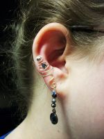 The Earring Cuff by SerenityinChains