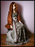 jeline green and brown by Lelahel-Clothes