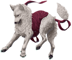 -AT- WhiteHopeWolf by Luphin
