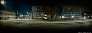 Grand Rapids Panorama by ohjustin