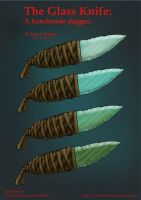 Faded Haven- Glass Dagger by Harry-the-Fox