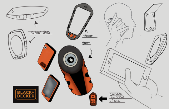Black and Decker Ideation Page by Free-raccoon-eyes