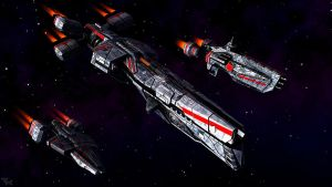Destroyer, Cruiser, Ironclad by tk3d