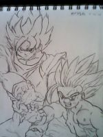 Father and Son...The Final Kamehameha! by Zero614