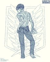 Shingeki no Kyojin: Levi's Jeans by scottwuming