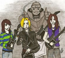 FMA Guitar Hero by ajbluesox