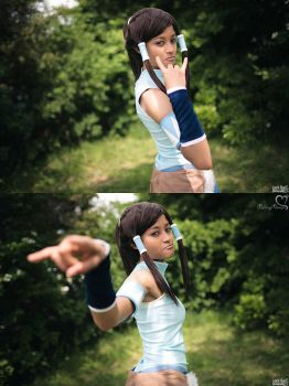 Korra is watching you by the-mirror-melts