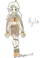 Clan of the Cave Bear: Ayla by aoichan1