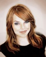 Emma Stone by RAblewhite
