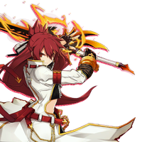 Elsword Elesis Blazing Heart skill cut-in by OneExisting