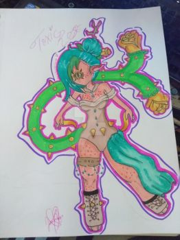 Code Name Toxic Rose by HelloSunniLove