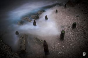 Waves fog by sylvaincollet