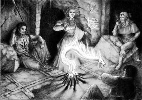 Campfire by yuhime