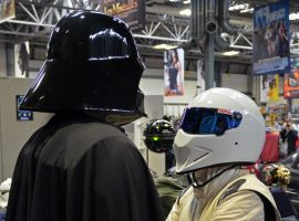 Darth Vader v The Stig by masimage