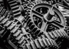 Gear Wheels by Grunvald