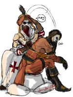 AC: Otto Doc/Jester by thunderjelly