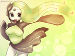 Pokemon #648 - Meloetta (Aria Form) by anyatagomachii