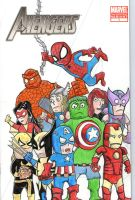 Avengers Blank Variant Front by johnnyism