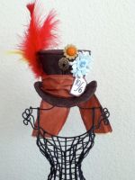 Mad Hatter mini top hat by PandoraLuv