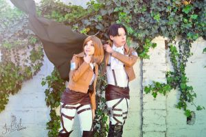 Shingeki no Kyojin: Let's return home by in-ciel