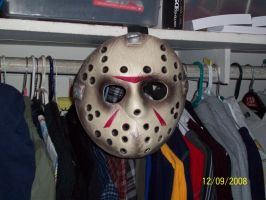 Jason Mask by foxanime101