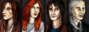 Realistic Main Characters [The Cobweb of Time] by SeaCat2401