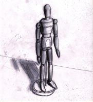 mannequin-sketch by kyupol