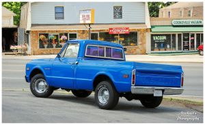 A Nice Blue Chevy C/10 Truck by TheMan268
