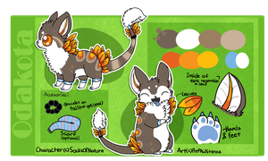 :Reference Sheet Commission: by PrePAWSterous