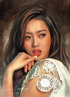 Asian Beauty 8 by Amro0