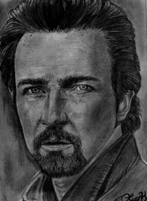 Edward Norton by MyriAscen-minD
