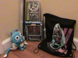 Stuff I bought at Anime Blast Chattanooga! by Bradley-The-Blue-Fox