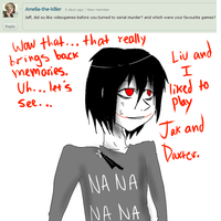 Ask Jeff The Killer 7-Question 39. by MikaelBratLoni