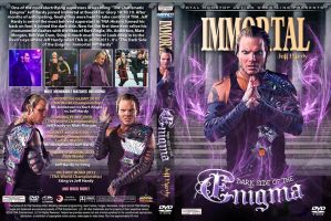 Jeff Hardy - The Dark Side of Enigma DVD Cover by Chirantha