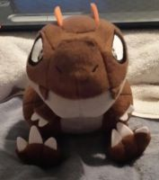 Pokemon X/Y Tyrunt Plushie by Bowser14456