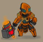 SK Crossover: Iron Rhino Armor by swampster12
