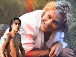 Heath Ledger by lyrabelacqua
