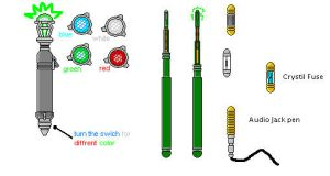 Costom Sonic Screwdriver05 by Elkaddalek