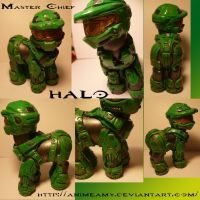 Master Chief from Halo by customlpvalley