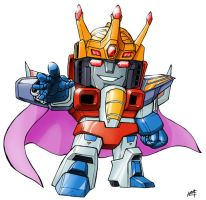 SD Starscream by Mintyrobo