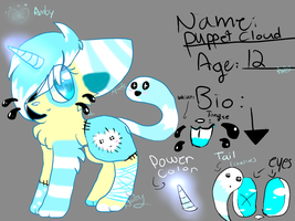 my oc ref by catsp00ky