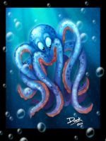 Octopus  Speed Painting by CaseyD2K