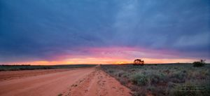 Sunset Road by FireflyPhotosAust