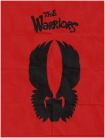 'The Warriors' Minimalist Movie Poster by CarlitoJay