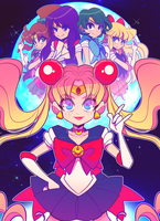 Sailor Moon by tabby-like-a-cat
