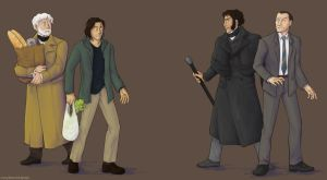 les mis|monster: the encounter by simply-irenic
