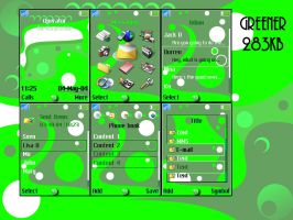 S700 GREENER Theme by The1Blur