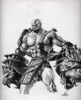 Kratos 2 by MuhammedFeyyaz