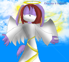 Dibujo a Dani730-angel en el cielo.... by 03-Marina-the-cat