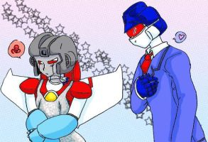 Starscream, Stunning in Silver by LordStarscream42